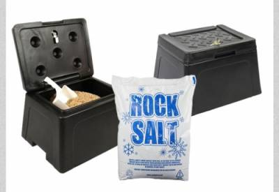 Mini Rock Salt Grit Bin